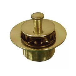 Click here to see Jones Stephens P35051 Jones Stephens P35051 Polished Brass Lift and Turn Tub Drain