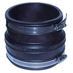 Click here to see Fernco 1060-33 Fernco 1060 Flexible Pipe Coupling, 3 in x 3.97 in, Plastic Socket, 4.3 psi, PVC