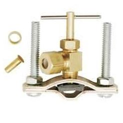 Click here to see Plumb Pak PP855-2LF Plumb Pak PP855-2LF Saddle Valve, 1/4 in, Brass, Chrome Plated