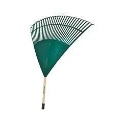 Click here to see Mintcraft 33288 MintCraft 33288 Lawn/Leaf Rake With Handle 30 in L Head, 30 Tine, 48 in Handle
