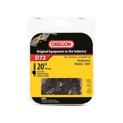 Click here to see Oregon D72 Oregon D72 Premium Replacement Chain Saw Chain, 3/8 in X 20 in