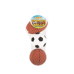 Click here to see Rhode Island 20063 Rhode Island 20063 Ruffin It Dog Toys, Vinyl  Sports Ball