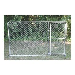 Click here to see SPS Fence DKS21006 spsfence DKS21006 Gate Panel, 10 ft Length X 6 ft Height, Steel, Galvanized