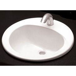 Click here to see Toto LT502.4#03 Toto LT502.4 Bone Self Rimming Lavatory 4