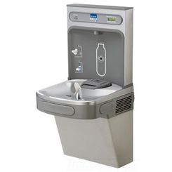 Click here to see Elkay LZS8WSL2K Elkay LZS8WSL2K EZH2O Bottle Filling Station with Single Cooler, 220V/50HZ