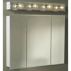 Click here to see Jensen 255230 Jensen 255230 White Horizon Surface-Mounted Cabinet, 29-11/16