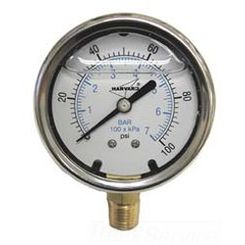 Click here to see American Granby  American Granby ILPG20025-4L Liquid Pressure Gauge