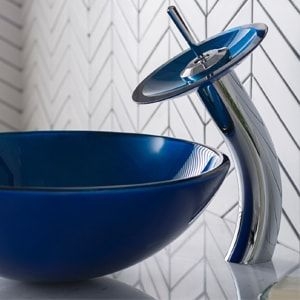 Bathroom Sink w/ Faucet Kits Image