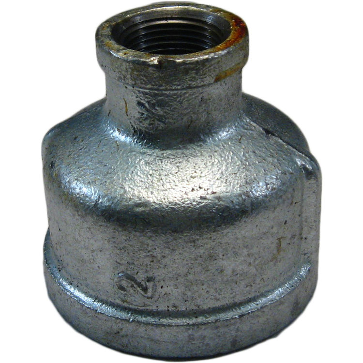 Commodity  GALBR234 Galvanized Bell Reducer, 2