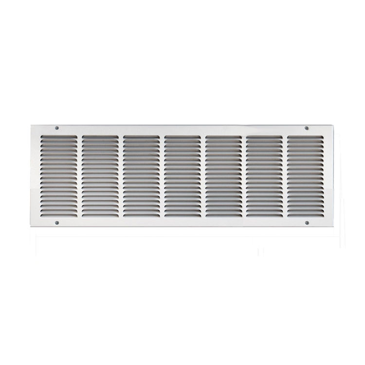 View 2 of Shoemaker 1050-30X12 30x12 Soft White Return Air Grille (Stamped from Cold Roll Steel) - Shoemaker 1050