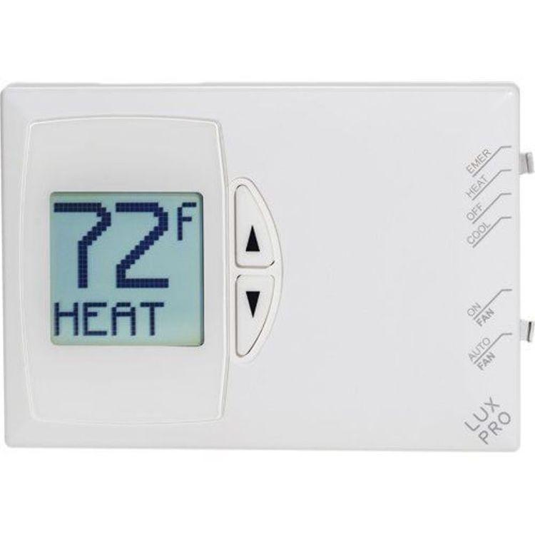 Luxpro Psdh121 Digital Non Program Heat Pump Thermostat