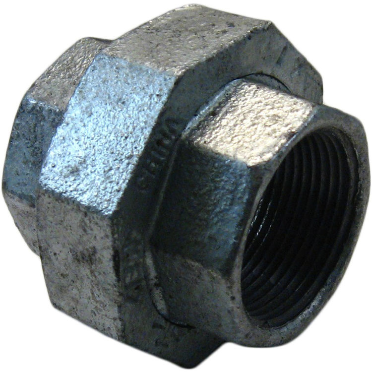 Commodity  GALU114 Galvanized Union, 1-1/4 Inch