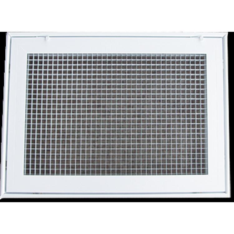 View 2 of Shoemaker 620FG1-14X14 Shoemaker 620FG1-14X14 Lattice Filter Grille - Soft White