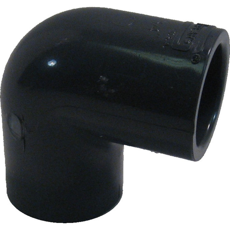 Commodity  PVC80L34 Schedule 80 PVC 90 Degree Elbow, 3/4 Inch