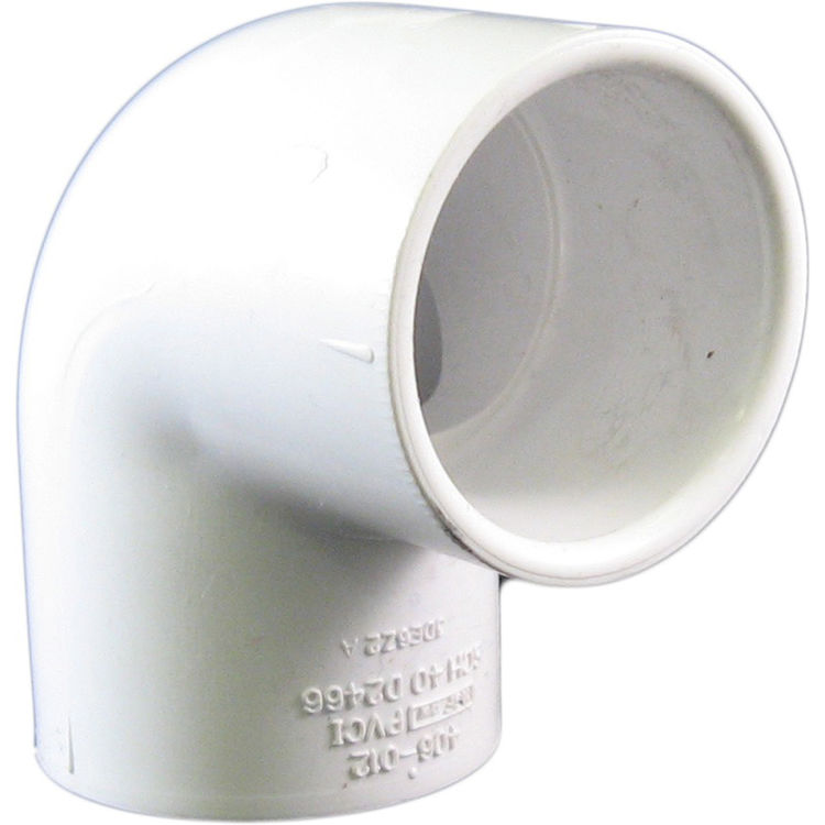 Commodity  PVCL114 Schedule 40 PVC 90 Degree Elbow, 1-1/4 Inch