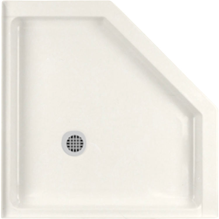 Swanstone R 36 Neo 018 Bisque Angle Fit Flo Shower Floor