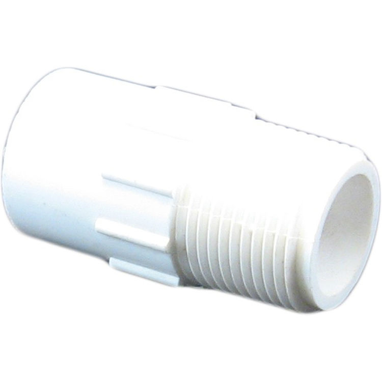 Commodity  Schedule 40 PVC 3/4 x 1/2 Inch Male Adapter