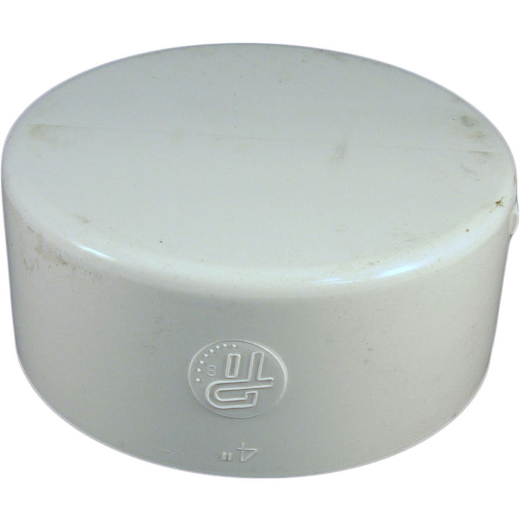 Commodity  4 Inch PVC Sewer & Drain Cap Fitting