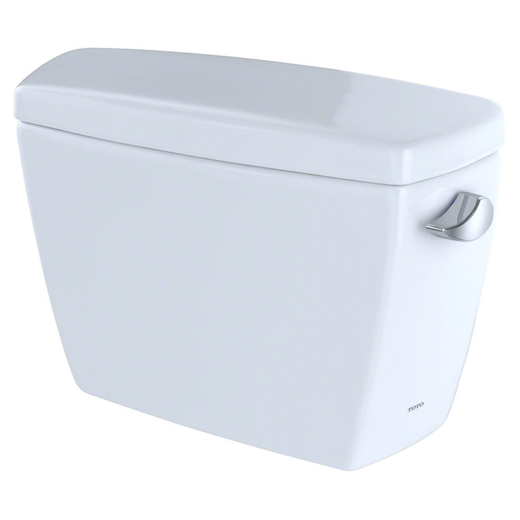 View 2 of Toto ST743SR#01 TOTO Drake G-Max 1.6 GPF Toilet Tank with Right-Hand Trip Lever, Cotton White - ST743SR#01