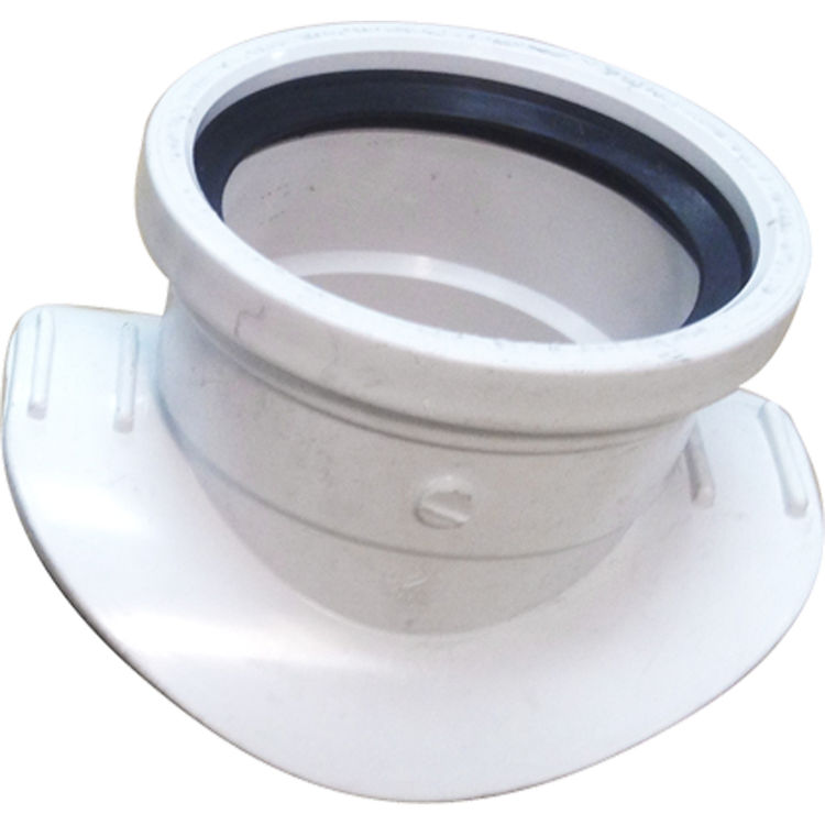 Commodity  6 inch by 4 inch Saddle Tee Gasketed Sewer & Drain SDR 35 PVC