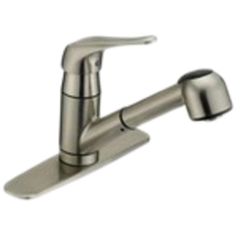 MATCO CL-150SS CLASSIC ONE HANDLE PULLOUT KITCHEN FAUCET CHROME