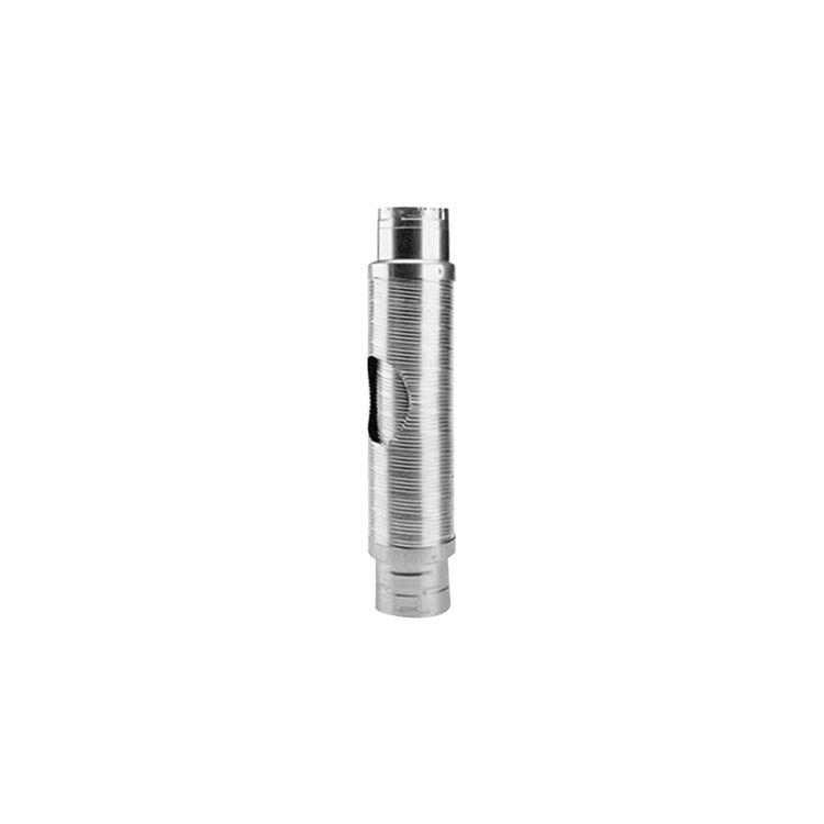 Metal-Fab MDWF0403 Metal-Fab MDWF0403 B-Flex Double-Wall Flexible Type B Vent Pipe Length - 4 Inch Diameter x 3 Foot