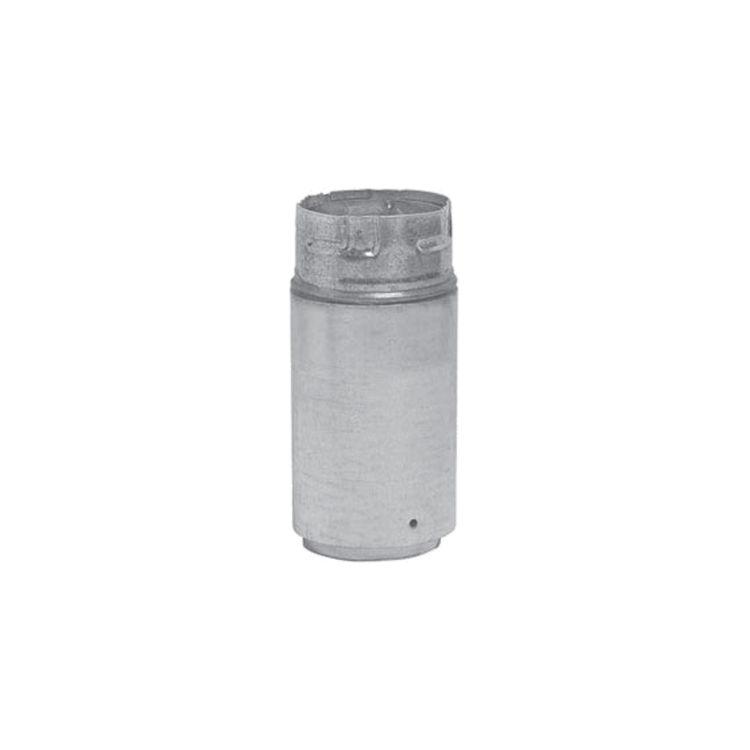 Metal-Fab 4P4FA Metal Fab 4P4FA 4 Biomass Chimney L Vent Galvanized Adapter (Female Lock)