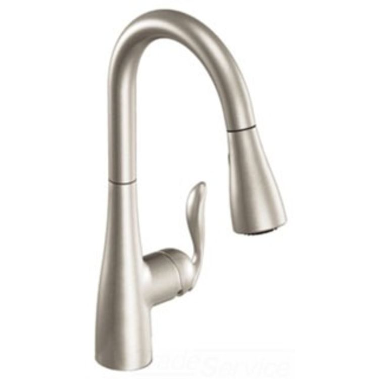 Moen 7594SRS Single-Handle Stainless Steel Pulldown Kitchen Faucet