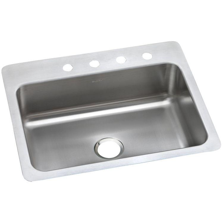 View 2 of Elkay DSESR127224 Elkay DSESR127224 Dayton Stainless Steel Equal Double Bowl Drop-in Sink, Satin