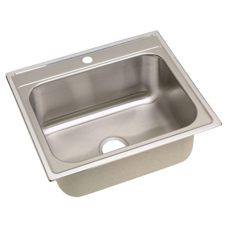 Elkay DPC12522101 Elkay DPC12522101 Dayton Stainless Steel Single Bowl Sink