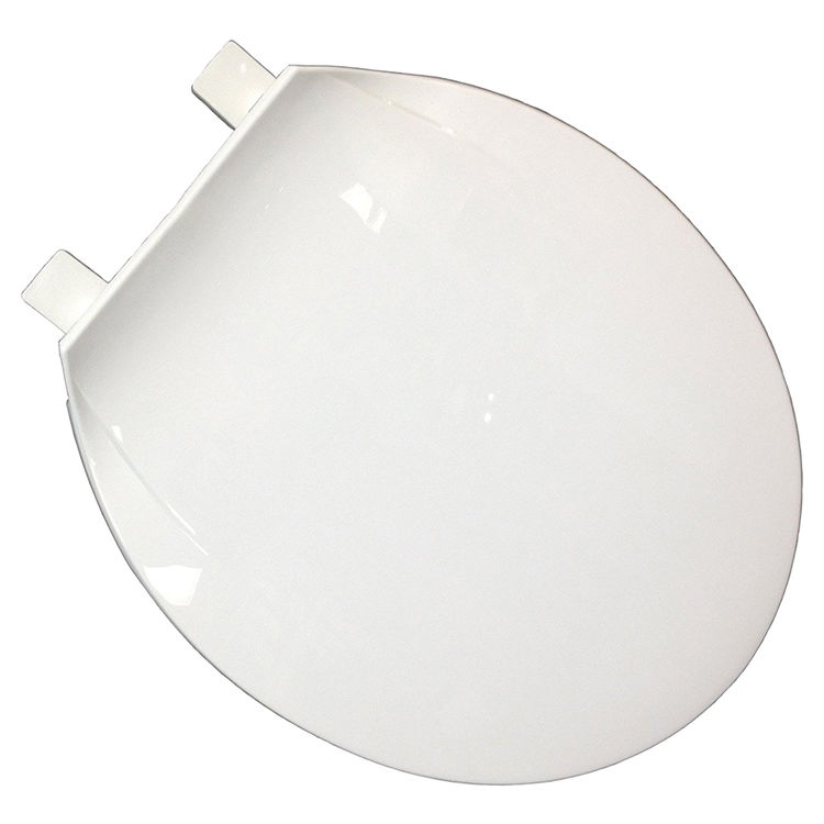 Jones Stephens U100500 Jones Stephens U100500 White Round Plastic Toilet Seat