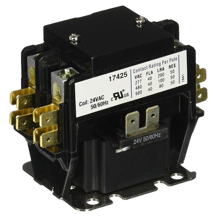 Mars 17425 Mars 17425 2 pole 40 amp Contactor 24 volt