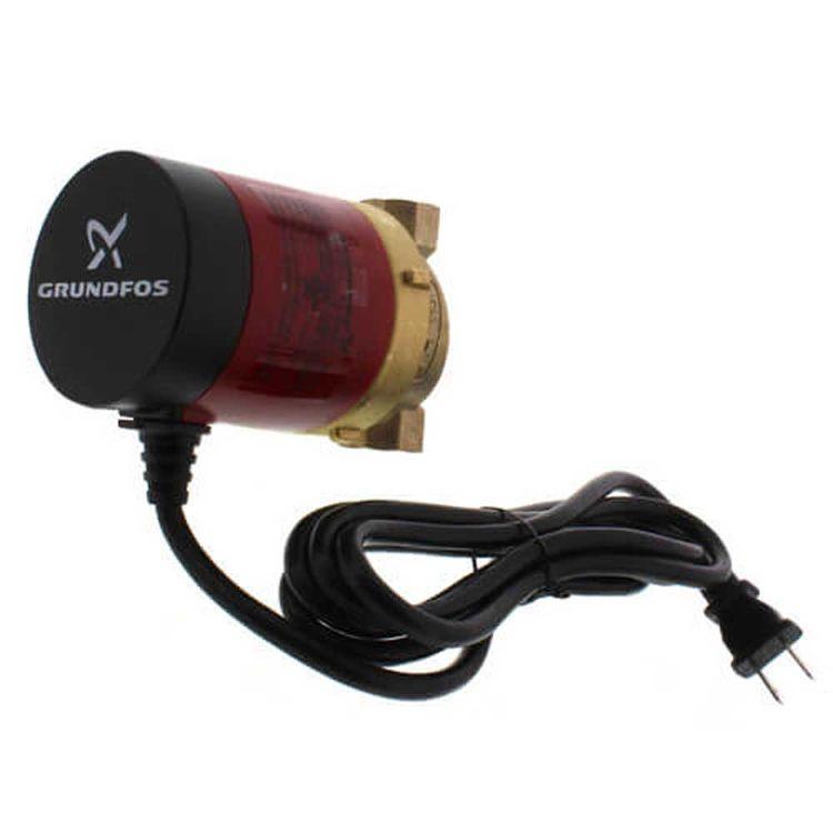 View 2 of Grundfos 98420210 Grundfos UP10-16 PM BN5/LC Comfort PM Recirculating Pump, 115V, 1/2 FNPT, 6' line cord,  98420210