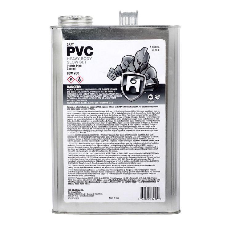 Commodity  1-Gallon Gray PVC Cement