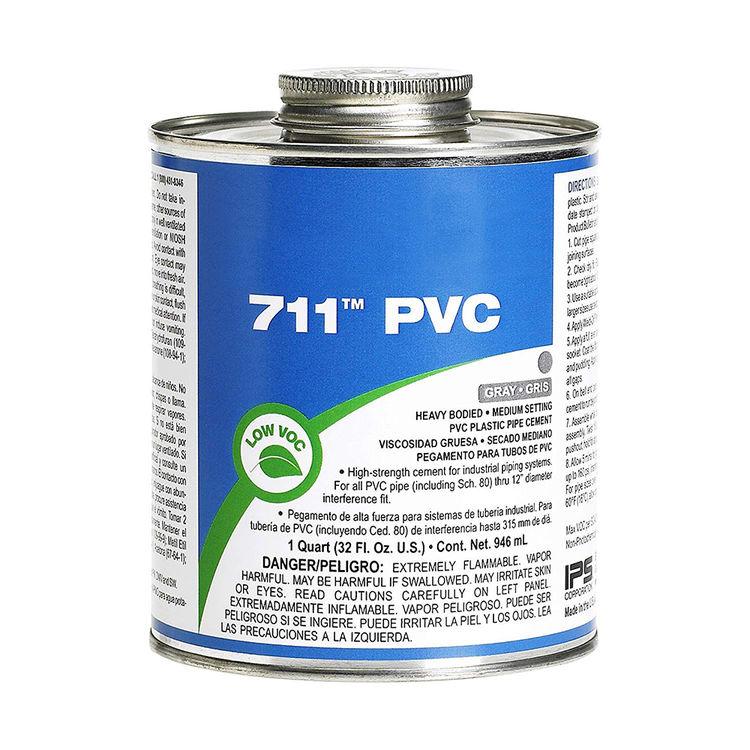 Commodity  1 Quart PVC Gray Cement