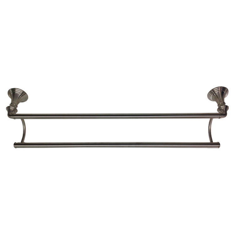 Kohler K 10553 Bn Brushed Nickel 24 Double Towel Bar Plumbersstock