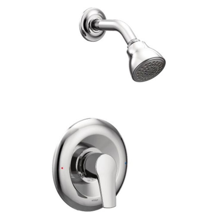Moen T2802NHHC Moen T2802NH Method Shower Trim Package With Shower Arm And Flange