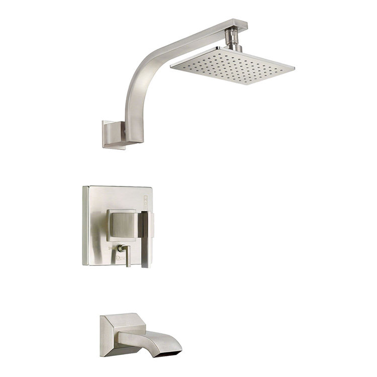 Danze D510044BNT Danze D510044BNT Sirius Single Handle Tub & Shower Trim Only, 2.5 GPM - Brushed Nickel