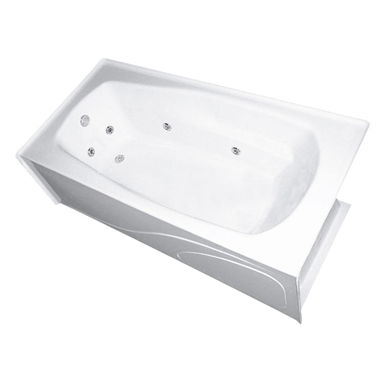 Mansfield 6622-WHT White Pro-Fit 3672 TFS Rectangular Soaking Tub