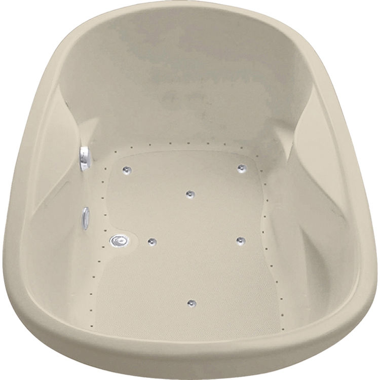 Mansfield Essence DualTherapy Air Bath Model 9235-BONE | PlumbersStock