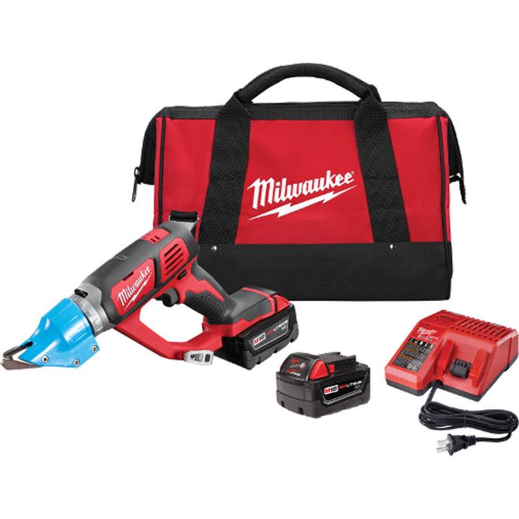 View 2 of Milwaukee 2636-22 Milwaukee 2636-22 M18 14 Gauge double Cut Shear Kit