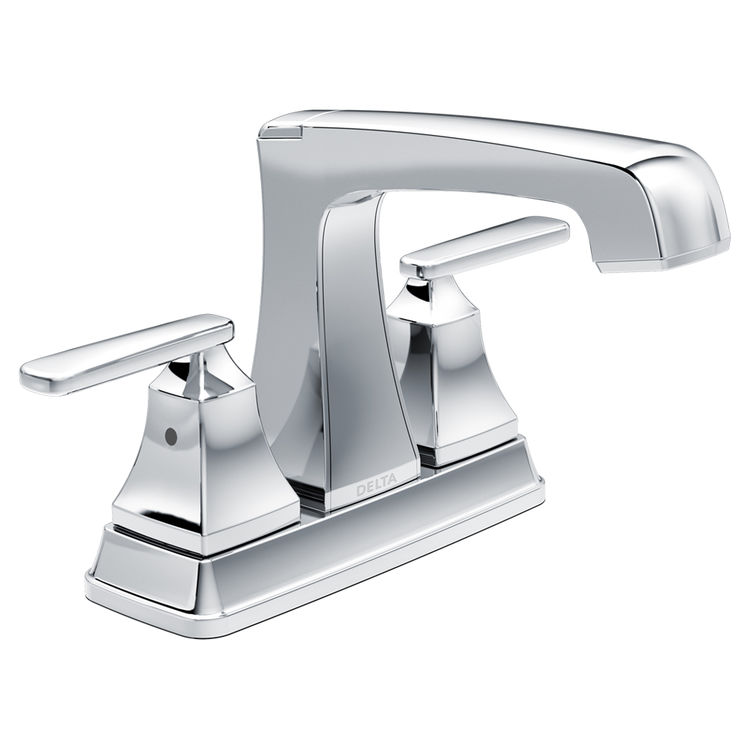 View 2 of Delta 2564-MPU-DST Delta 2564-MPU-DST Ashlyn Chrome Two-Handle Lavatory Faucet