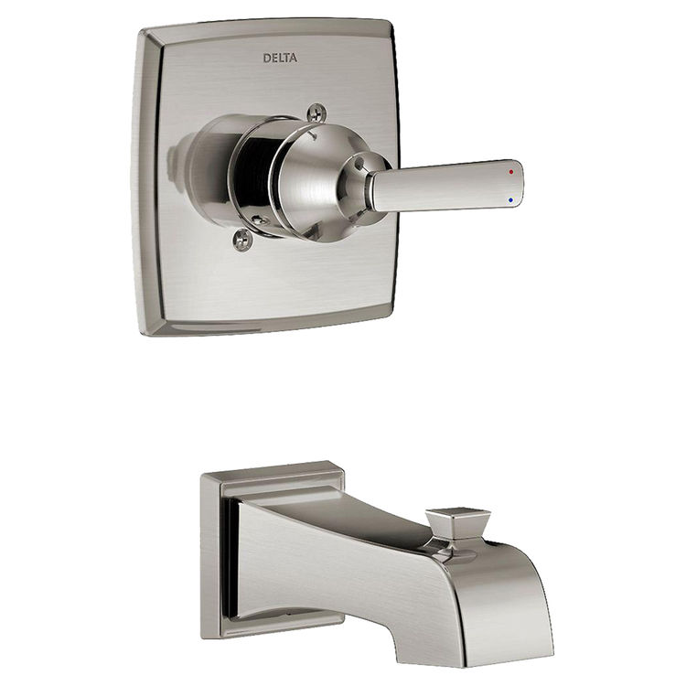 Delta T14164-SS Delta T14164-SS Stainless Steel Ashlyn 14 Series Tub Only Trim