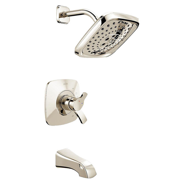 Delta T17T452-PN Delta T17T452-PN Polished Nickel Tempassure Tub/Shower Trim