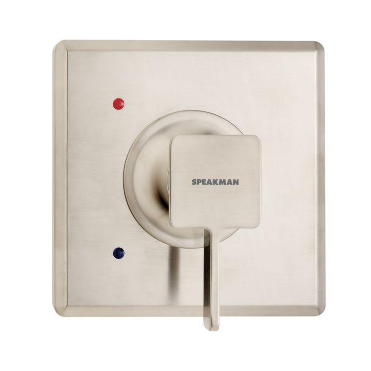 Speakman CPT-1300-UNI-BN Speakman CPT-1300-UNI-BN The Edge Universal Valve Trim, Brushed Nickel