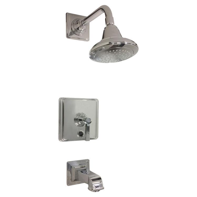 Kohler T13133-4A-CP Kohler K-T13133-4A-CP Polished Chrome Pinstripe Tub and Shower Faucet Trim