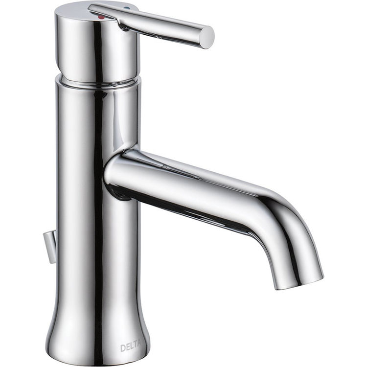 View 2 of Delta 559LF-HGM-MPU Delta 559LF-HGM-MPU Trinsic Single Handle Lavatory Faucet, Chrome