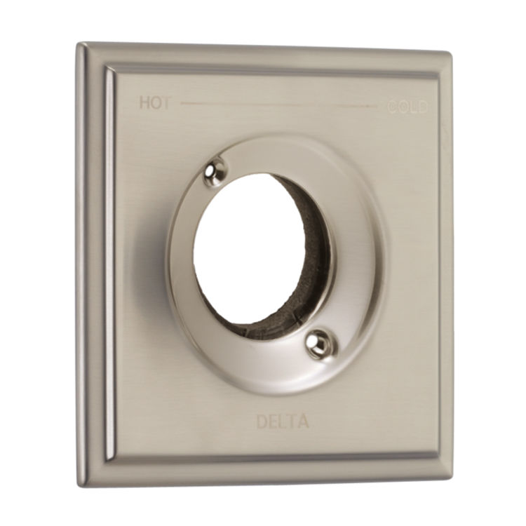 View 2 of Delta RP77035SS Delta RP77035SS Olmsted Square-Shaped Tub/Shower Trim Valve Escutcheon, Stainless