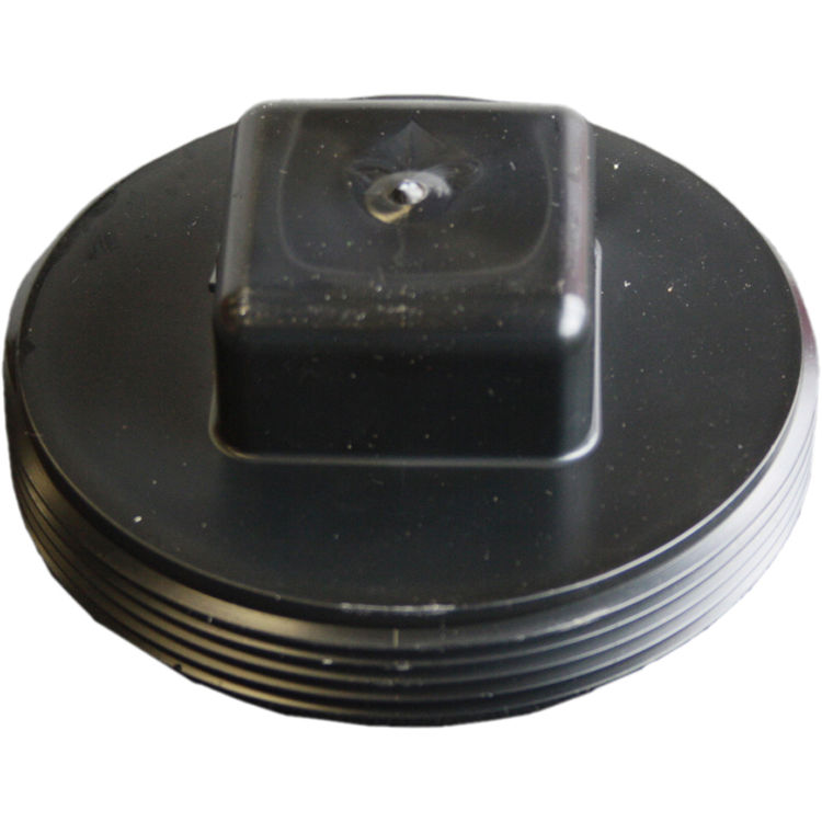 Commodity  4 Inch ABS Threaded Plug, ABS Construction