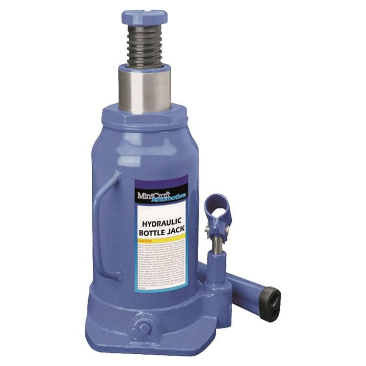Mintcraft T010706 Mintcraft T010706 Heavy Duty Hydraulic Bottle Jack, 6 ton, 8-1/2 - 16-1/4 in H, Steel